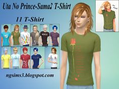 Sims 4 CC's - The Best: Shirts for Men by NG Sims