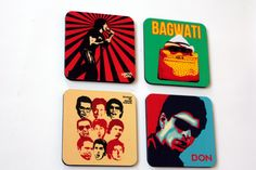 #GABAMBO Tables are scared of commitment. Use these coasters to keep them away from rings!  Set of 4 coasters from collection of Excel Entertainment  Available at www.gabambo.com