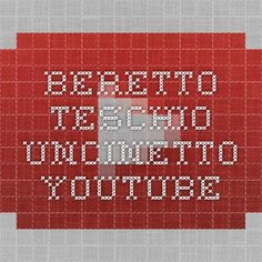 BERETTO TESCHIO UNCINETTO - YouTube