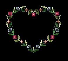 Thrilling Designing Your Own Cross Stitch Embroidery Patterns Ideas. Exhilarating Designing Your Own Cross Stitch Embroidery Patterns Ideas. Cross Stitch Boards, Cross Stitch Love, Cross Stitch Flowers, Cross Stitch Designs, Cross Stitch Patterns, Pagan Cross Stitch, Embroidery Hearts, Cross Stitch Embroidery, Embroidery Patterns