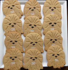 wookiee cookies (this blog is my go-to for good rolled cookies recipes and variations - I'm certain this will be a success too!)