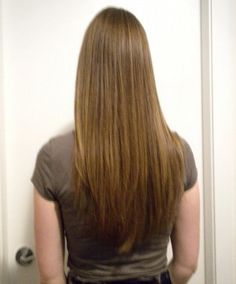 straight long hairstyles with v shape end for simple hair sitting