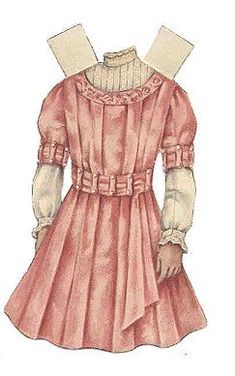 Paper Doll From Ladies Home Journal, c.1909 Betty Bonnet Paper-Doll (scroll down for 2 dresses)  From Ladies Home Journal, a Betty Bonnet Paper Doll, c. 1909 Paper Doll –1) Click on doll a…