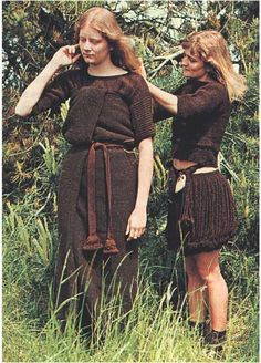 Women | Gyldendal - The Great Danish Reconstruction of Skrydstrup Girl and Egtved Girl's suits photographed on live models Nordic bronze age