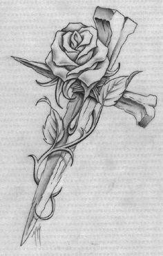 Tatuajes de cruces, rosarios y frases de fe | Belagoria | la web de los tatuajes