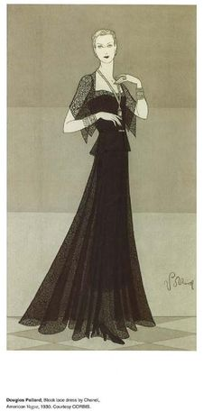 from 100 years of fashion illustration