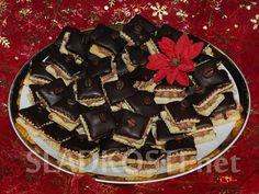 Kávové čtverečky s kakaovým krémem dia Christmas Goodies, Christmas Baking, Diabetes, Waffles, Cookies, Breakfast, Food, Sweet, Diet