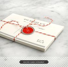Recipe Card Giveaway // Love & Lemons