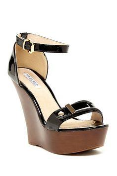 Kaleen by Los Angeles Katy Wedge Sandal by Elegant Footwear on @HauteLook