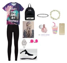 """""""Untitled #28"""" by brookemcdevitt ❤ liked on Polyvore featuring beauty, NIKE, Moschino, Sonix, Carole, Skinnydip and Rolex"""