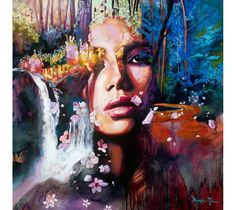Contemporary Oil Portrait Painting by Dimitra Milan