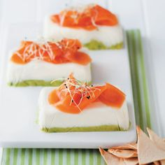 Avocado Terrine with Smoked Salmon #Easy #Recipe #SouthAfrica