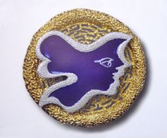 Brooch by Georges Braque (collection Diane Venet