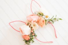 DIY Floral Bunny Ear