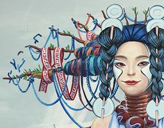 """Check out new work on my @Behance portfolio: """"Saporito mural"""" http://be.net/gallery/59564103/Saporito-mural"""