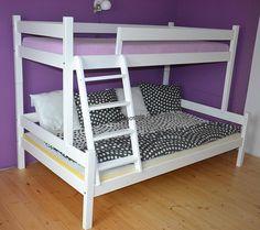 Patrová postel z masívu NELA 120X200 CM Bunk Beds, House Design, Furniture, Home Decor, Cabin Ideas, Bedrooms, Beds, Decoration Home, Loft Beds