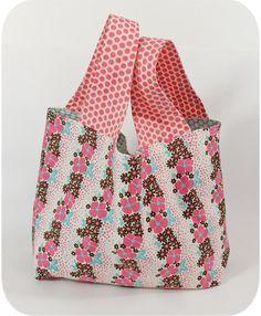 keyka lou mini grocery bag instructions
