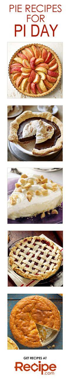 Pie Recipes for Pi Day