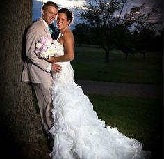 Tan Allure trim fit tuxedo Country Chic, Mermaid Wedding, Tuxedo, Wedding Dresses, Fit, Fashion, Bride Dresses, Moda, Bridal Gowns