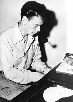 ~ Frank Sinatra at home practicing his piano and writing music ~ Young Frank Sinatra, Joey Bishop, Peter Lawford, From Here To Eternity, Sammy Davis Jr, Classic Tv, Classic Style, Beauty And The Beast, Beauty Beast