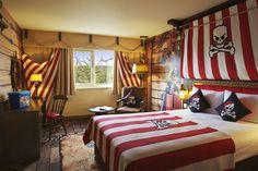 Joshs bedroom ideas - pirate!