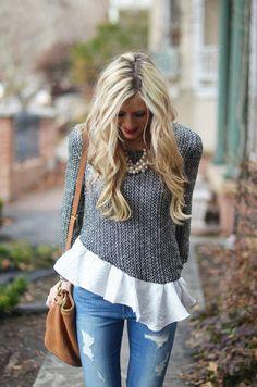 diy sweater detail