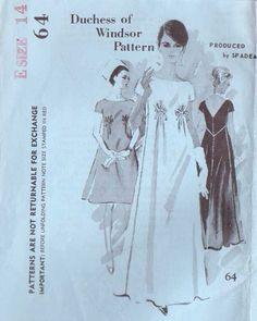 Vintage 60's Duchess of Windsor Spadea Designer by retromonkeys, $48.00