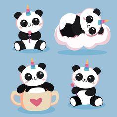 Panda Wallpaper Iphone, Cute Galaxy Wallpaper, Cute Panda Wallpaper, Panda Wallpapers, Cute Cartoon Wallpapers, Cute Animal Tattoos, Cute Animal Drawings Kawaii, Cute Drawings, Panda Themed Party