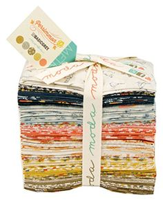BasicGrey Persimmon 40 Fat Eighths Bundle Moda Fabrics
