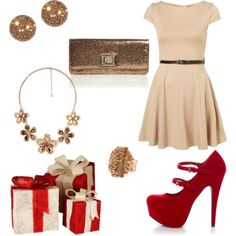 """Holiday Outfits 2011"" by piinkcupcakez on Polyvore❤"