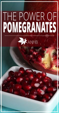 The Power of Pomegranates - All Natural Home and Beauty