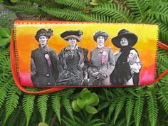 Votes for Women purse, sunset colors by Pennamite, $40.00 USD