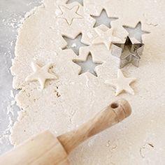How to Make Salt Dough Ornaments plus the recipe.