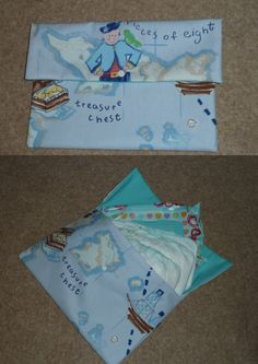 Pirate nappy grab bag - The Supermums Craft Fair