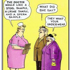 Old folks humor | Nurse ratchet
