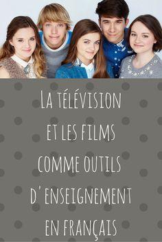 La télévision et les films comme outils d'enseignement en français. Ressource gratuite pour enseignant. Francophonie et culture. Pédagogie culturelle en salle de classe. Primaire, élémentaire, intermédiaire et secondaire.