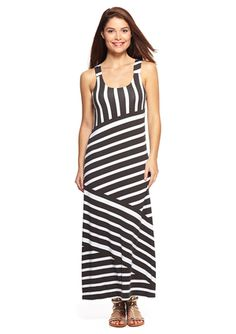 On ideel: SHORELINE Horizontal Stripe Maxi Dress