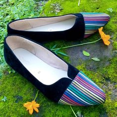 sweet shoe, point toe shoes, lurik  #indonesianlurik #inlurik