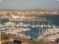 Hafen von Palma de Mallorca - mehr ღღ Bilder unter http://galerie.portalmallorca.de/Palma-de-Mallorca