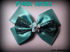 Park Ariel Hair Bow Little Mermaid Disney by bulldogsenior08, $10.00