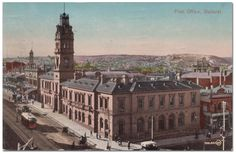Ballarat Post Office 1914