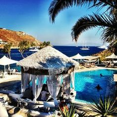 Vacation in luxury at the Kivotos Hotel in #Mykonos.    Photo courtesy of belgonzaa on Instagram.