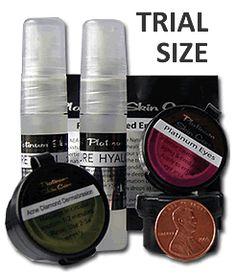 Platinum Skin Care - Trial Size - Clear: Curoxyl Benzoyl Peroxide 5, $5.00 (http://www.platinumskincare.com/trial-size-clear-curoxyl-benzoyl-peroxide-5/)