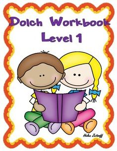 Practice Workbook for Dolch Level 1 Words   This is a great workbook to introduce, practice, and reinforce the basic sight words of the Dolch Level 1 list. Activities include tracing words, reading words in context, unscrambling sentences, completing word searches, answering yes or no questions and much more.Automatic word recognition and word retrieval are important components of attaining reading fluency.