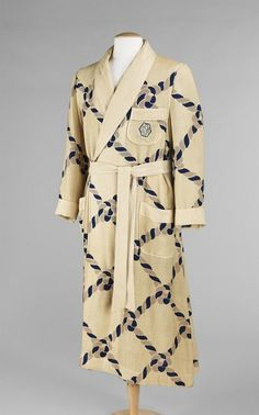 Robe Sulka   Company c.1940 The MET Made Clothing 375192378