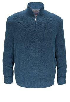Casamoda Pullover für 109,95€. Cooler Pullover von Casa Moda, Kragen mit Reißverschluss, Elastischer Rippen-Strick, Idealer Pullover für kältere Tage bei OTTO