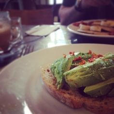 New year new menu.. Hello avocado toast