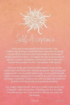 Affirmation - Self-Acceptance von CarlyMarie