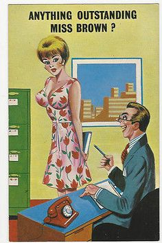 #Comic/seaside saucy postcard - anything #outstanding miss brown #-vintage postca, View more on the LINK: http://www.zeppy.io/product/gb/2/161712628876/