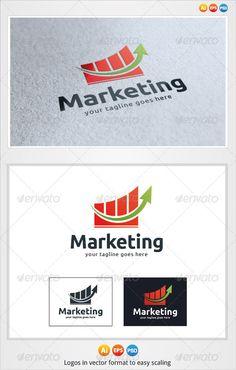 Marketing - Logo Design Template Vector #logotype Download it here: http://graphicriver.net/item/marketing-logo/3219152?s_rank=723?ref=nexion